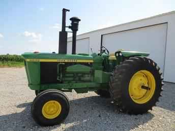6030, most powerful two wheel drive tractor ever built...THIS IS NOT  the most powerful 2 wheel drive ever built.The  John Deere 4840 has got 5 more hp
