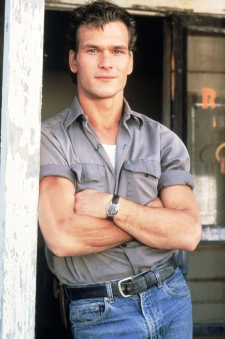 Patrick Swayze as Darry Curtis in The Outsiders, male actor, dancer, artist, hands, sexy guy, r.i.p. you will be forever missed, portrait, photo