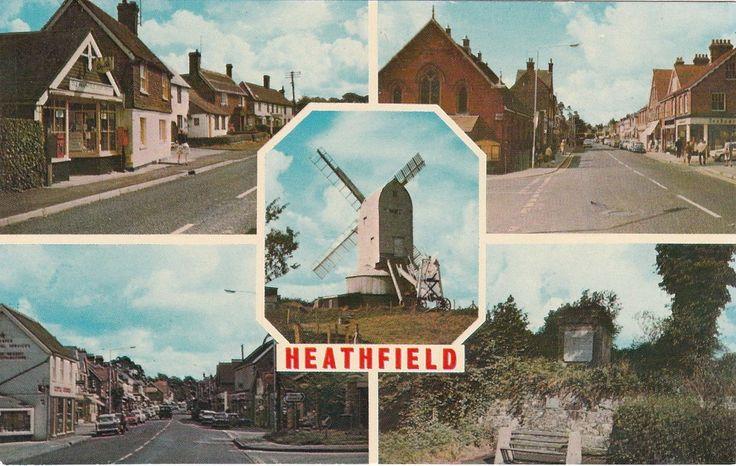 Multiview With Windmill, HEATHFIELD, Sussex | eBay