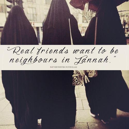 Neighbours in Jannah