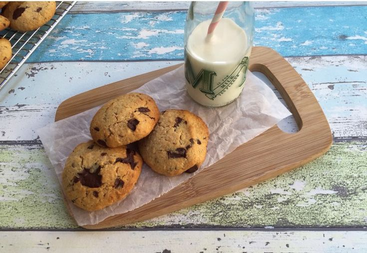 Healthy choc chip cookies - Real Recipes from Mums