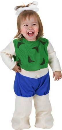 Baby Pebbles Halloween Costume (Size: 12 Months)