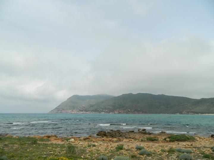 Il panorama dalla spiaggia dell'evento non è niente male!