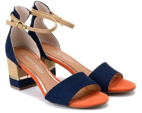 Marco Tozzi 28303 Sandaly Damskie Na Obcasie Damskie Sandaly I Klapki Heels Shoes Sandals