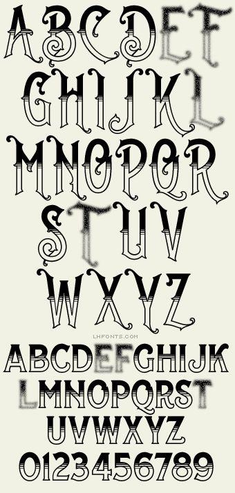 25 best ideas about fonts alphabet on