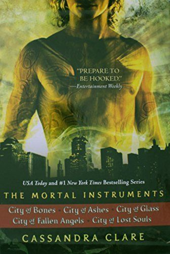 cool The Mortal Instruments: City of Bones; City of Ashes; City of Glass; City of Fallen Angels; City of Lost Souls