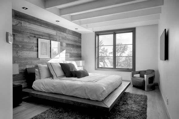 wood wall bedroom decor interior design