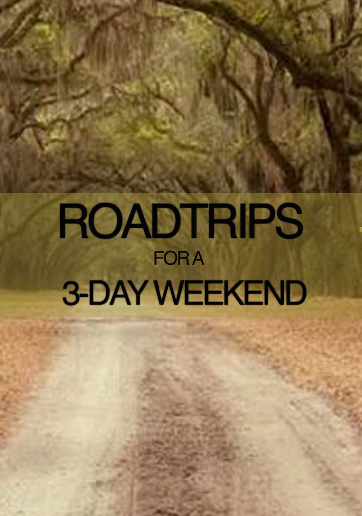 Roadtrips for a 3-day Weekend: Summer is full of three-day weekends, whether it be a summer Friday off from work or a federally mandated holiday. If you're looking to hit the road for one of your long weekends, here are some of the most jam-packed, scenic American routes you can take.