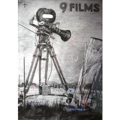 """WILLIAM KENTRIDGE """"9 FILMS"""" / FRAMED for R200,000.00"""