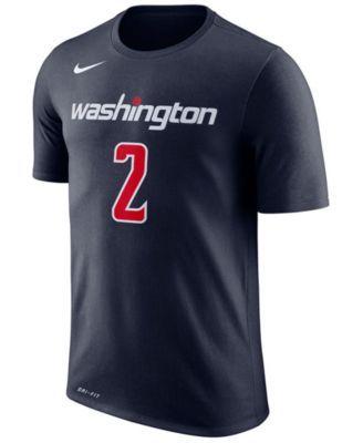 Nike Men's John Wall Washington Wizards Name & Number Player T-Shirt - Blue XXL