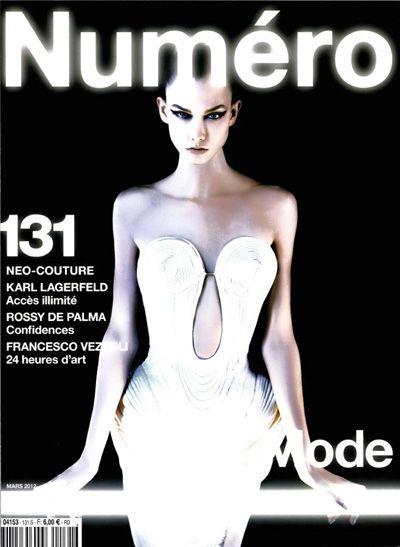 Numero Paris March 2012 | Karl Lagerfeld  #photography