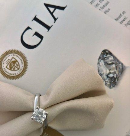 Gioielleria Brunetti dal 1925 - offriamo diamanti con certificazione  GIA con laser inscription