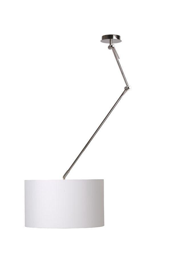 Lucide hanglamp Eleni wit - praktisch plafondlamp om licht te richten waar je maar wilt.