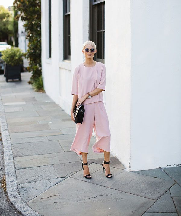 A chic two-piece on our latest Chic of the Week.