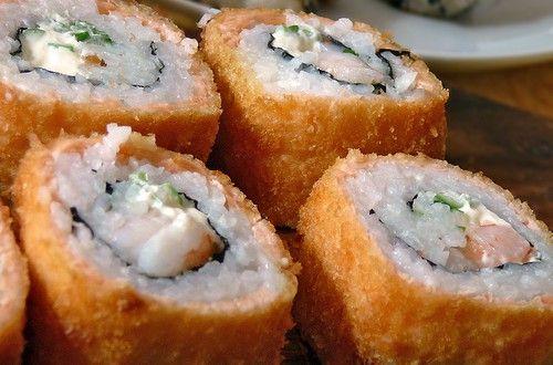 Tempura Sushi: Anleitung und Rezept für frittiertes Sushi - Germanblogs.de