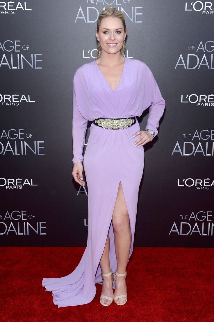 Lindsey Vonn – 'The Age Of Adaline' Premiere in NYC 19.04.15