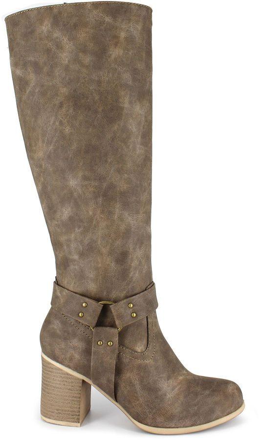 JUST DOLCE BY MOJO MOXY Just Dolce By Mojo Moxy Dutchess Womens Riding Boots