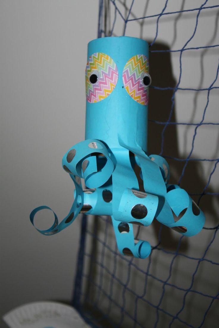 Underwater crafts for kids! #octonauts