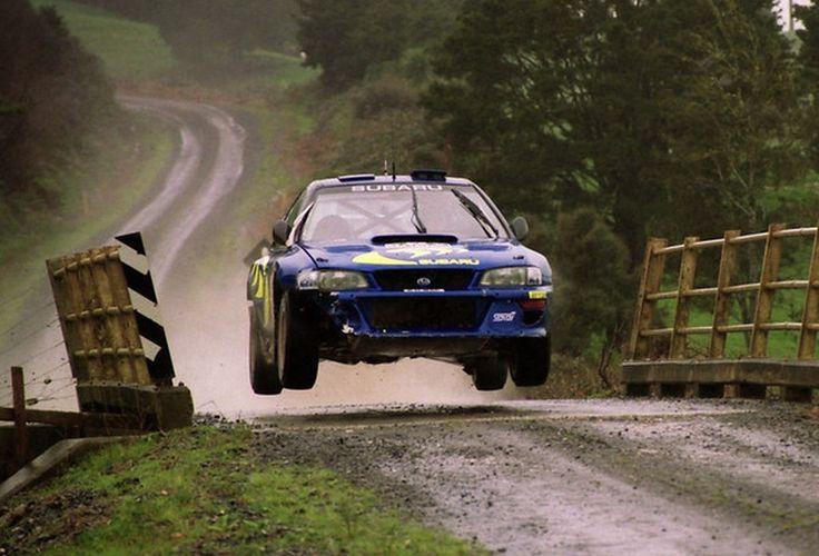 28º RALLY NEW ZEALAND 1998 5º CLASIFICADO C.MCRAE - N.GRIST SUBARU IMPREZA WRC98