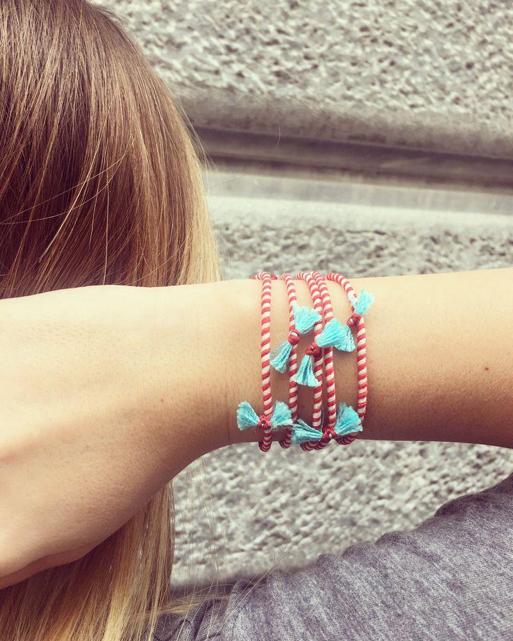 March Bracelet 2017 by Zayiana on Etsy