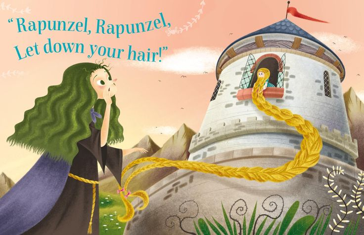The wicked witch who imprisoned Rapunzel in Storytime Issue 7. Illustrated by Katya Longhi (http://katyalonghi.wix.com/katyalonghi) ~ STORYTIMEMAGAZINE.COM