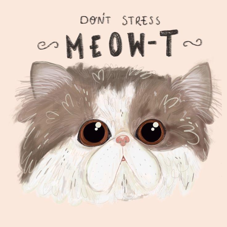 Jessillustrates Don't stress meowt