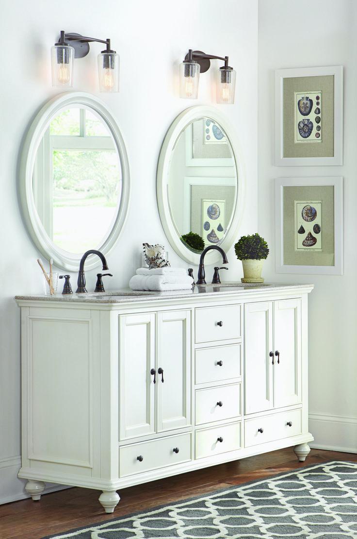 165 best images about bath on pinterest laundry hamper - Home decorators bathroom lighting ...