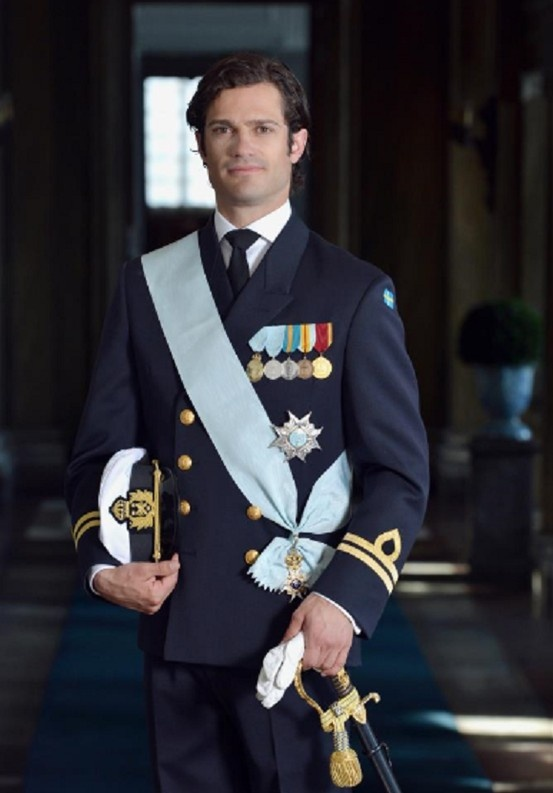 Prince Carl Philip of Sweden turns 34 yrs old on 13 May 2013