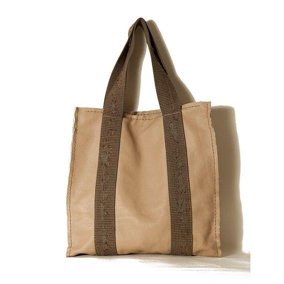 Camel leather bag Christmas gift ideas Fall by ElenaVandelliBags