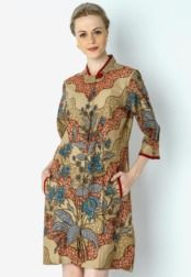 Danar Hadi  Mini Dress Batik Grimsing