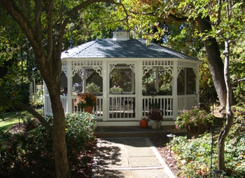A garden is not full without a gazebo