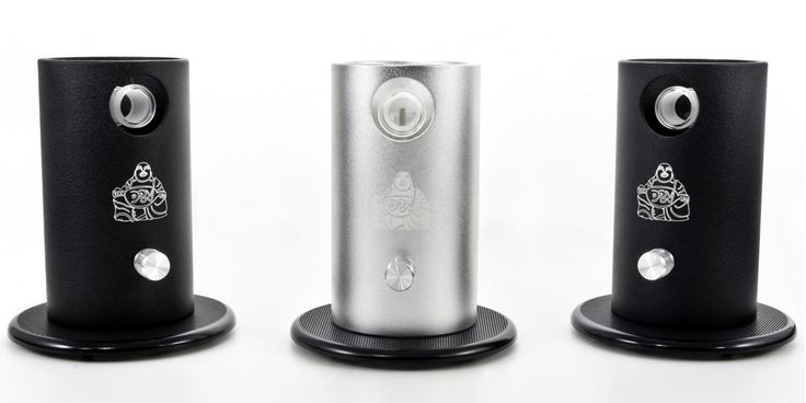 Da Buddha desktop Vaporizer cannabis grey and black