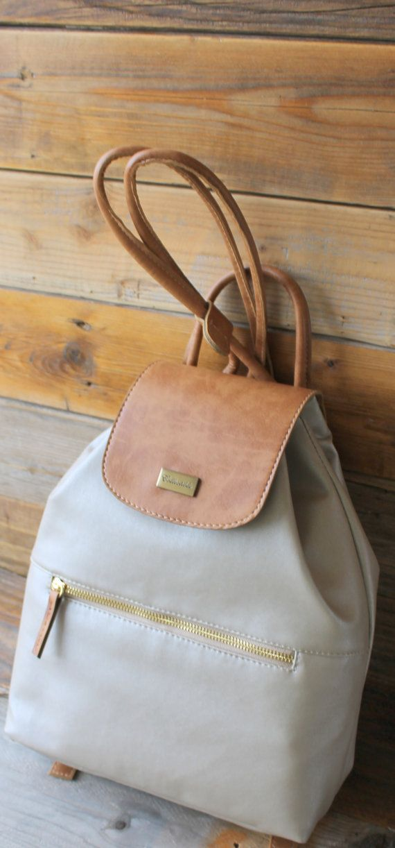 backpack synthetic leather by SunbeamSantorini on Etsy