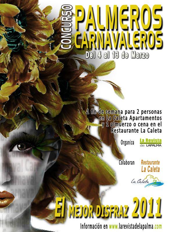"""Concurso """"PALMEROS CARNAVALEROS""""- EL MEJOR DISFRAZ DEL 2011. Un concurso para los que viven el carnaval ....      EL MEJOR DISFRAZ DEL 2011"""