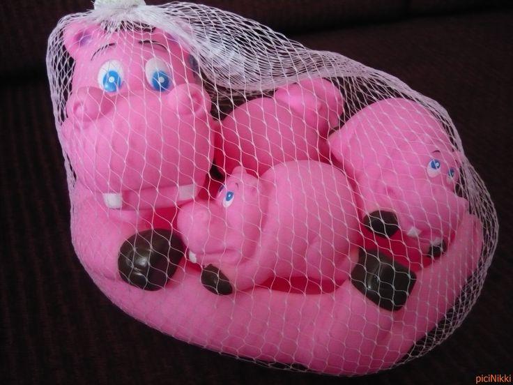 No. 214   víziló   hippo   fürdőjáték   bath toy
