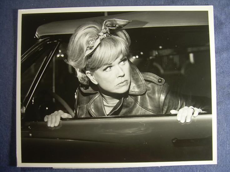 Doris Day as Abby McClure pictured on the set of her last film With Six You Get Eggroll, 1968, dir by Howard Morris.