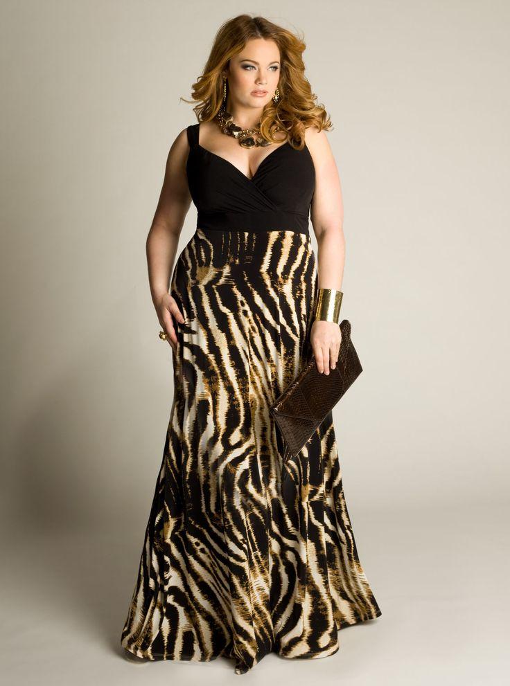 IGIGI Plus Size Naime Maxi Dress