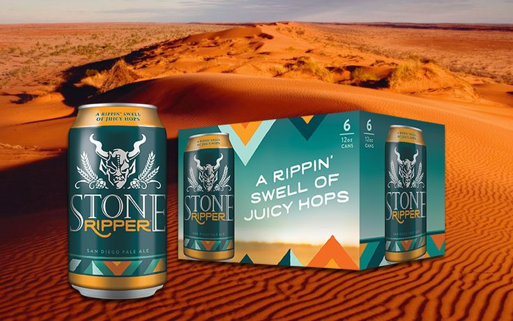 """A San Diego ale with an Aussie accent.  As Stone Brewing expands across the country and the Atlantic, the 20-year-old craft brewery nods to its San Diego roots with the release of Stone Ripper. The """"San"""