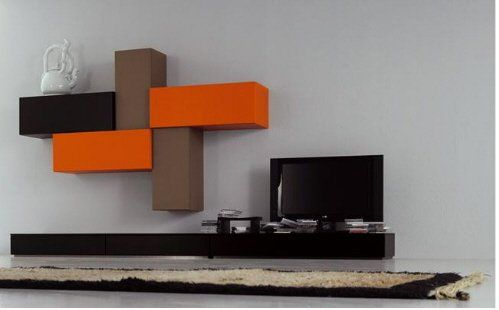 Modern Wall Mounted TV Cabinet For Living Room Decoration