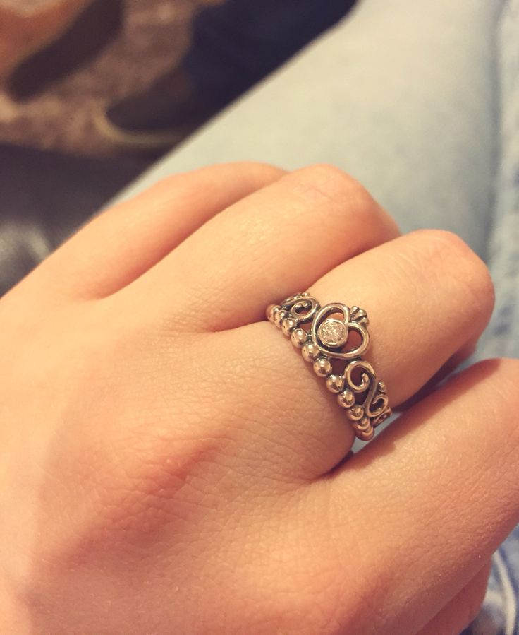 my gorgeous new pandora princess tiara ring pandora