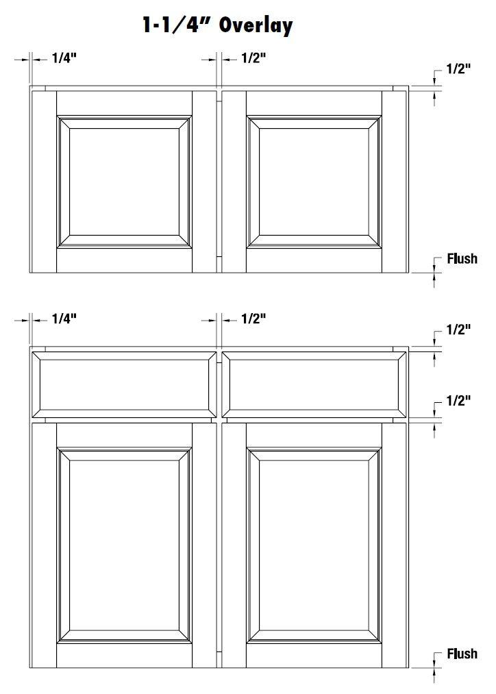 Cabinet Door Diagram Volvo V70 Wiring 2006 1 4 Overlay Kitchen Pinterest