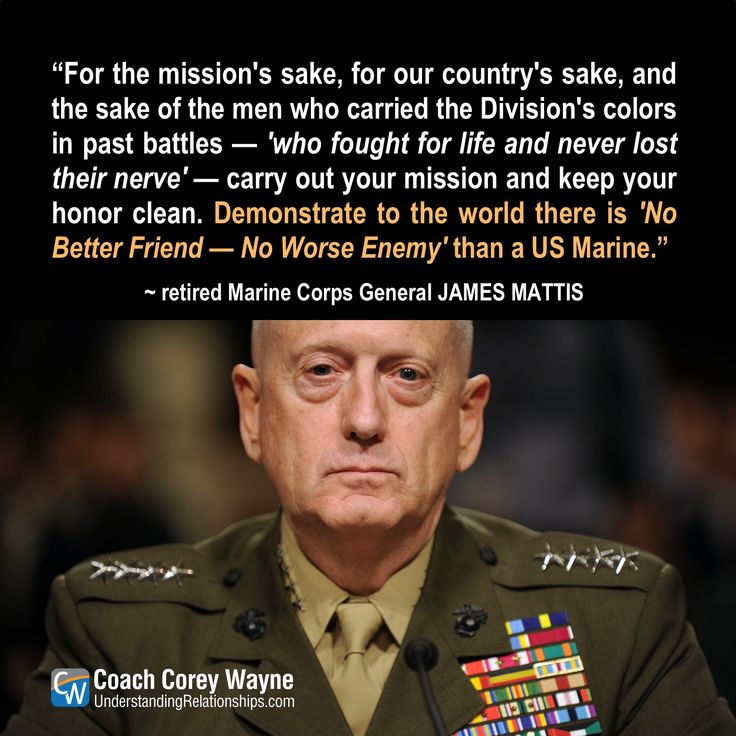 Mad Dog Don T Tread On Me Usmc Quotes General James