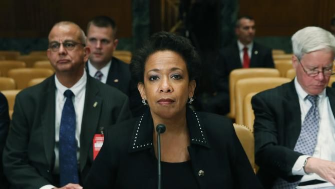 U.S. Attorney General Loretta Lynch-Justice Department to investigate Baltimore police for civil rights violations