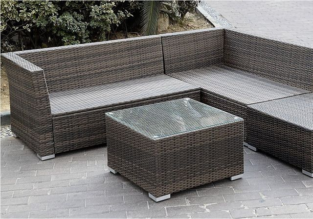 Giantex 6pc Patio Sectional Furniture Pe Wicker Rattan Sofa Set Deck Couch Outdoor