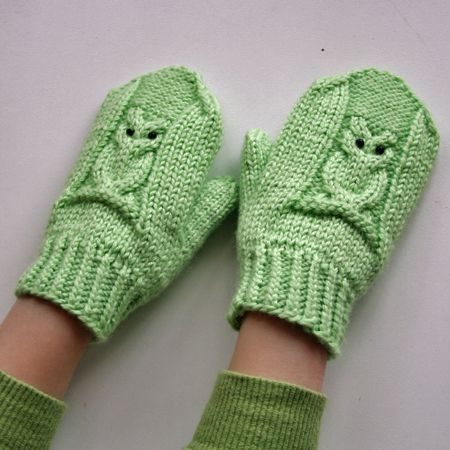 Baykuş Motifli Örgü Eldiven Yapımı #crochet #örgü #knit #knitting