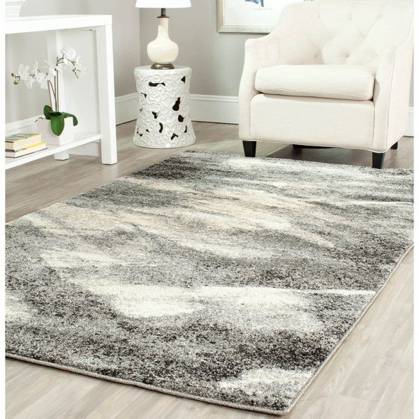 Safavieh Deco Inspired Grey/ Ivory Rug (8u0027 X ...