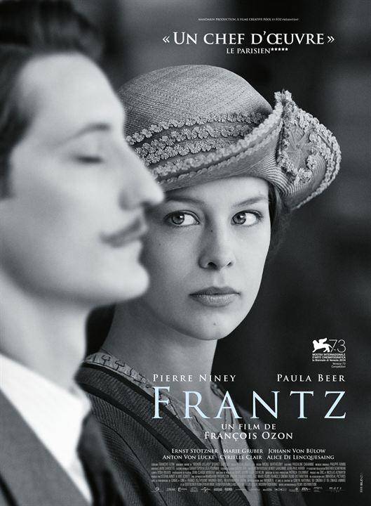 "♥♥♥♥ ""Frantz"", un drame de François Ozon avec Pierre Niney, Paula Beer, Ernst Stötzner... (09/2016)"