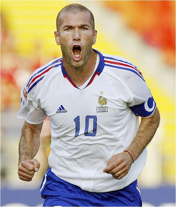 Zinedine Zidane (France). At last, something French worth rooting for.