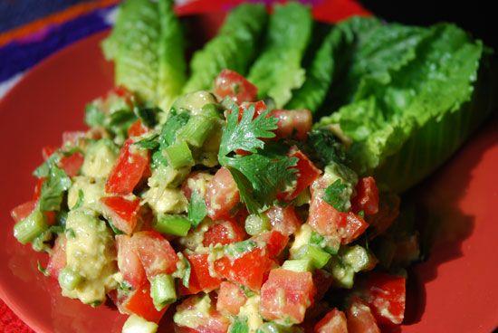 guacamole salad | Detox Inspiration | Pinterest