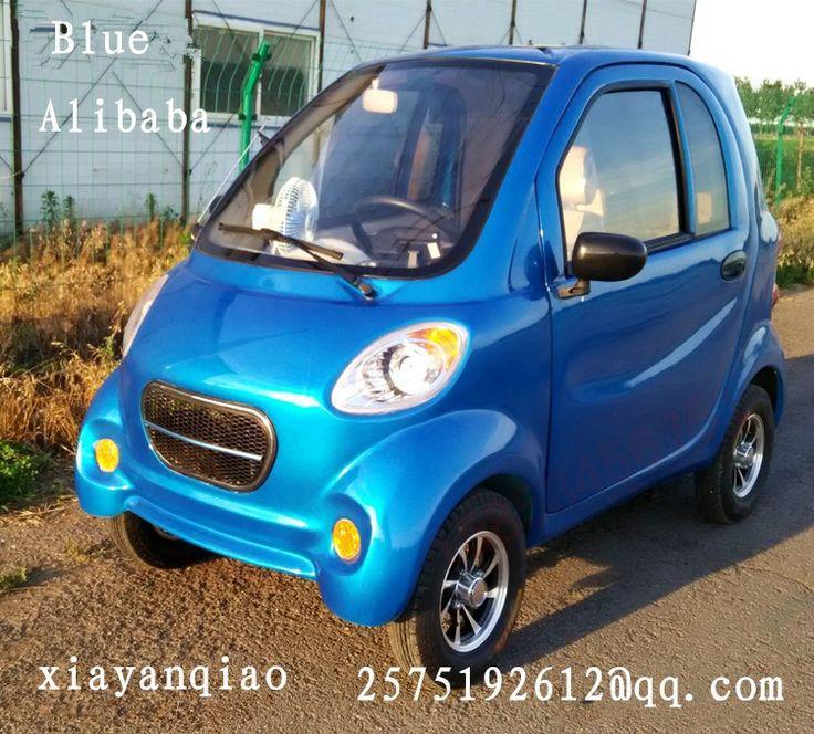 """Best product from China - Купить """"SD-HZ-XBM-A-1-The пожилых скутер электрическое транспортное средство с четырьмя колесами вместо четырех колесный автомобиль взрослых новая энергия автомобиля"""" всего за 3598 USD."""